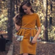 Rochie eleganta Falling in Autumn
