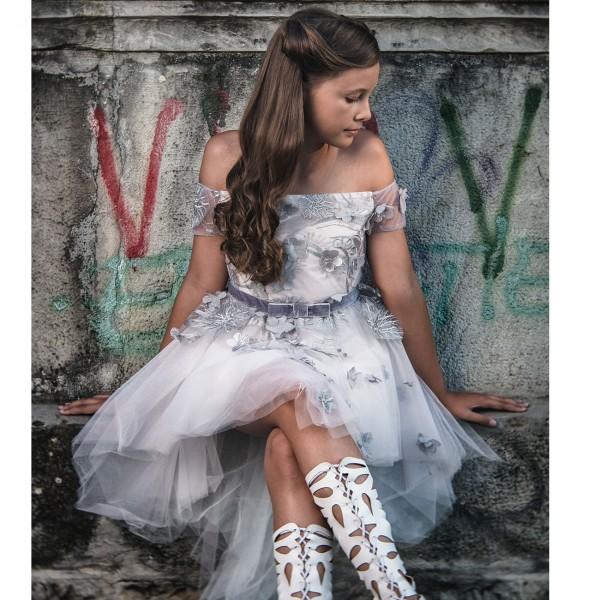 Rochie fete din dantela Glamour Dream