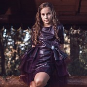 Rochie Purple Rock n Roll
