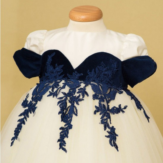 Rochita botez Blue Sapphire