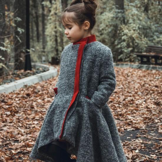 Palton fetite Petite Parisienne